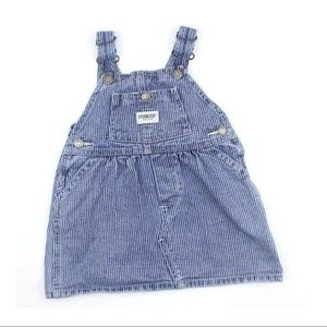 Osh Kosh Conductor Overall Dress, Size 18 Months